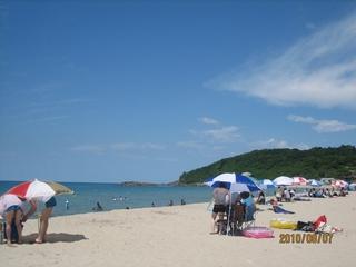 波子海水浴場2