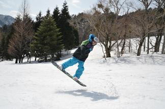 スノーボード in 恐羅漢