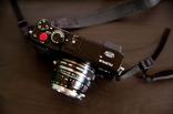 FUJIFILM X-E1にNOKTON Classic 40mm F1.4 MCを装着